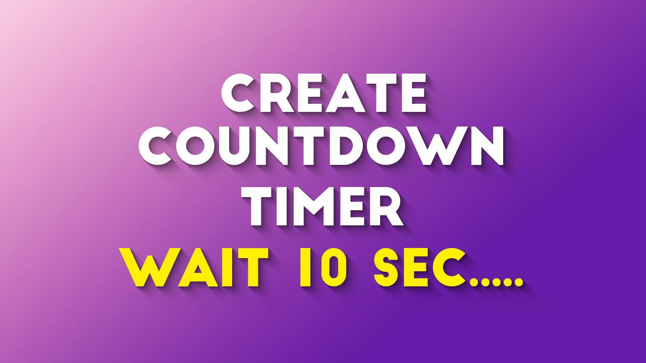 How To Create Countdown Timer For Download Button In WordPress